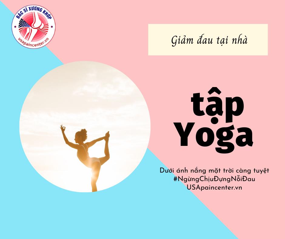 tập yoga giúp giảm đau hiệu quả