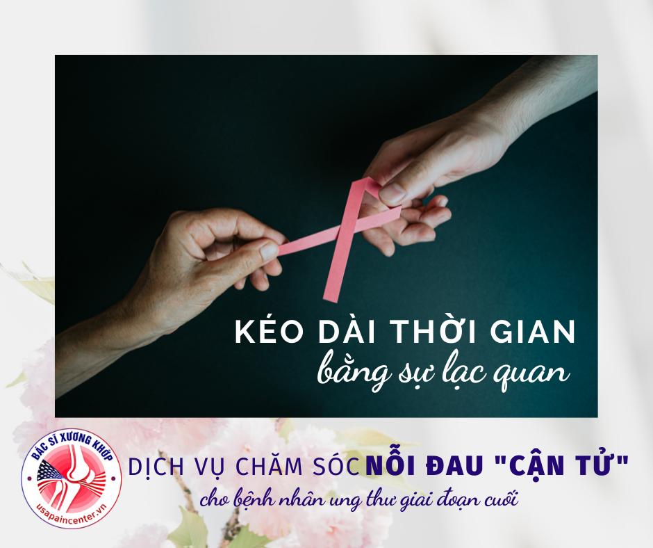 điều trị đau bệnh nhân ung thư giai đoạn cuối