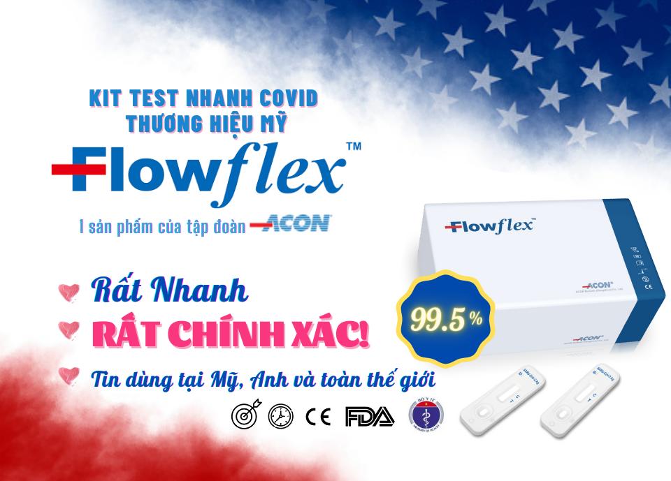 Nhà phân phối flowflex kit test nhanh covid tại nhà nhanh chóng chính xác