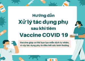 Xử lý đau nhức sau khi tiêm vaccine covid 19